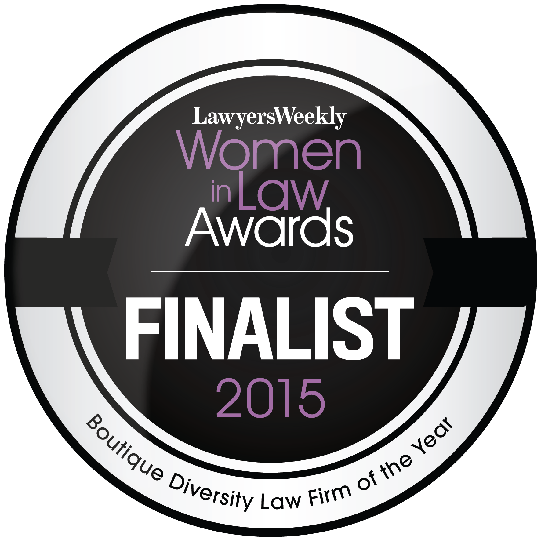 2015 Women in Law Boutique Diversity Law Firm of the Year Finalist